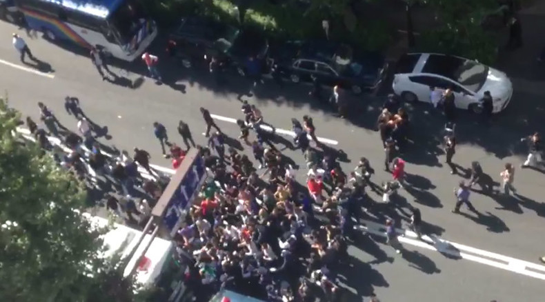 Several injured in violent brawl outside Turkish embassy in Japan