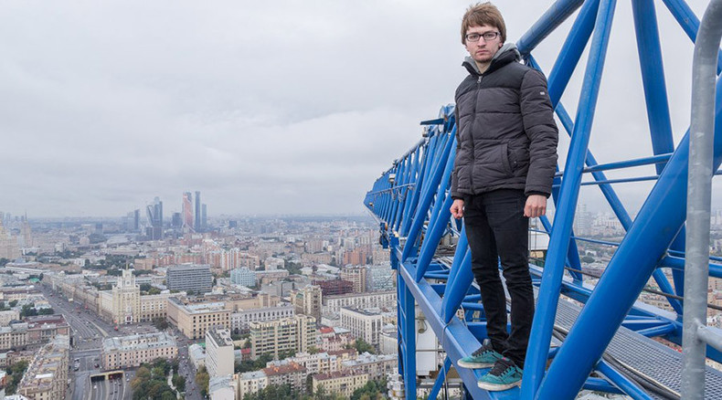 'I've been locked up 6 times': Russian rooftopper stops at nothing to take stunning pics