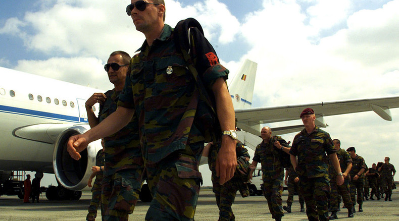 Belgian army base attacked by lone gunman