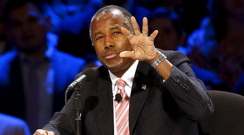 Prominent GOP presidential candidate Carson likens abortion to slavery