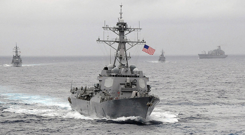 China furious after US Navy destroyer passes disputed islands in S. China Sea
