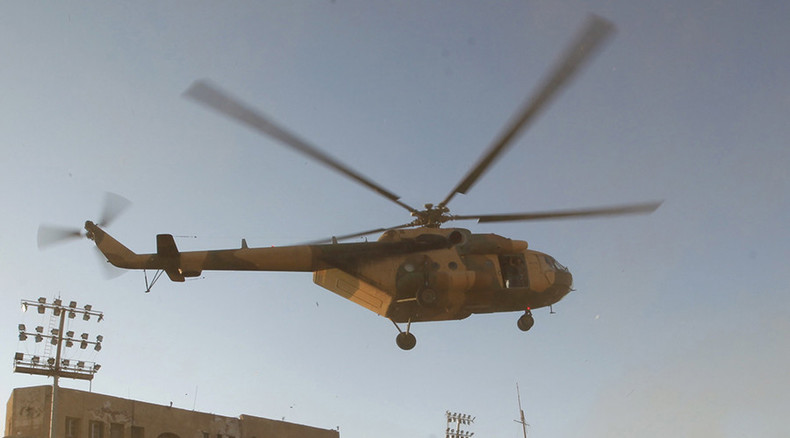 At least 14 killed after helicopter shot down in Libya