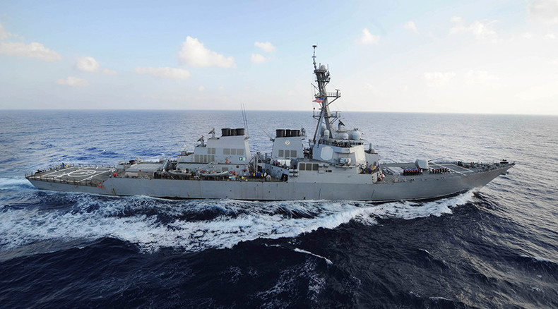 South China Sea tensions: US declares right to fly, sail anywhere intl law allows