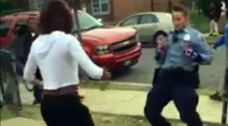 Dance power: DC cop and teen turn confrontation into dance-off