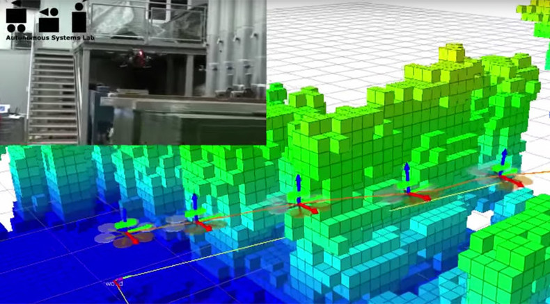 Putting the 'unmanned' into UAV: New drone can build its own maps, move autonomously