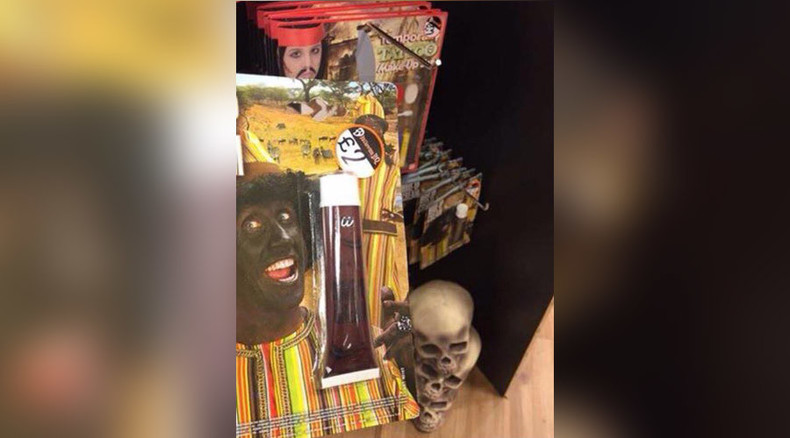 'Race is not a costume': Halloween retailer branded 'racist' for stocking blackface makeup