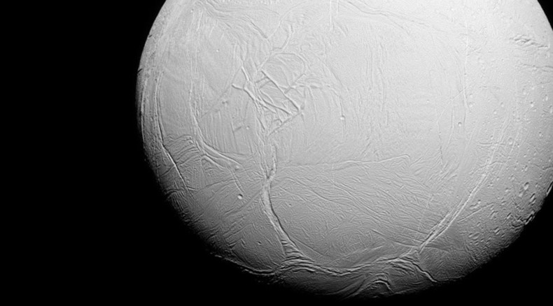Photos pending! NASA probe takes 'deepest-ever' dive into Saturn moon's icy plume