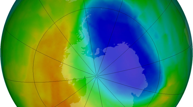 Hole in ozone layer now size of Russia & Canada combined – UN