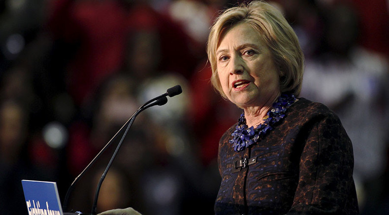 Clinton interrupted by Black Lives Matter at 'African Americans for Hillary' launch
