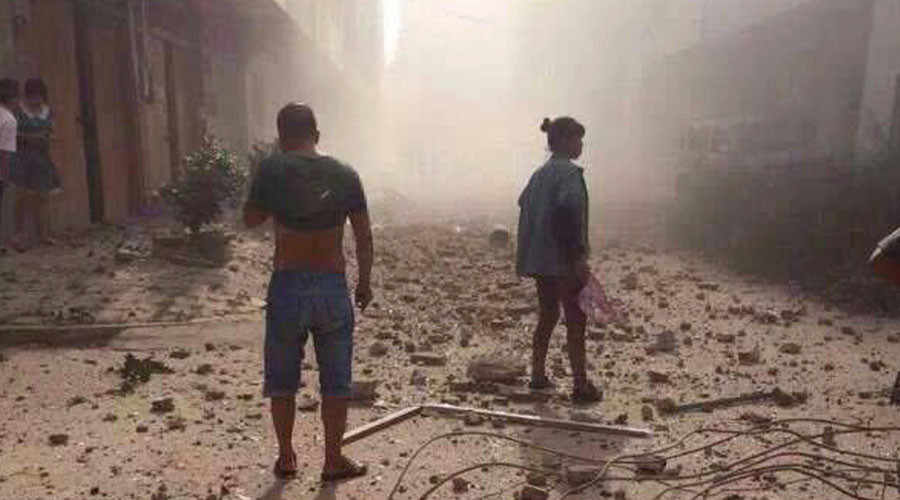 Another blast rocks China's Liucheng County after series of deadly explosions
