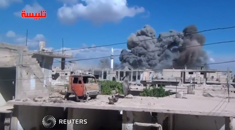Information warfare? Russia accused of killing civilians in Syria