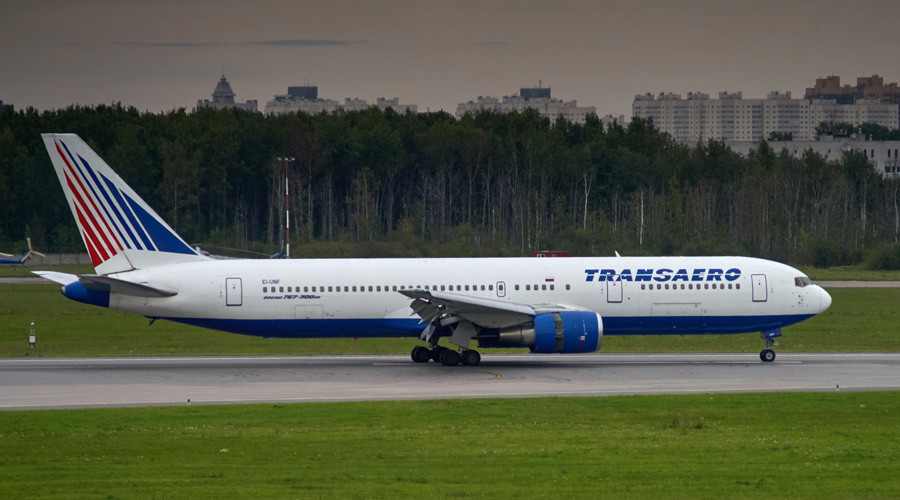 Transaero, Russia's biggest private airline files for bankruptcy