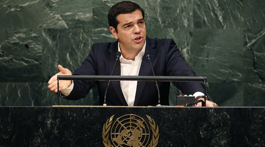 Greek PM condemns EU mismanagement of refugee crisis, social costs of austerity at UNGA