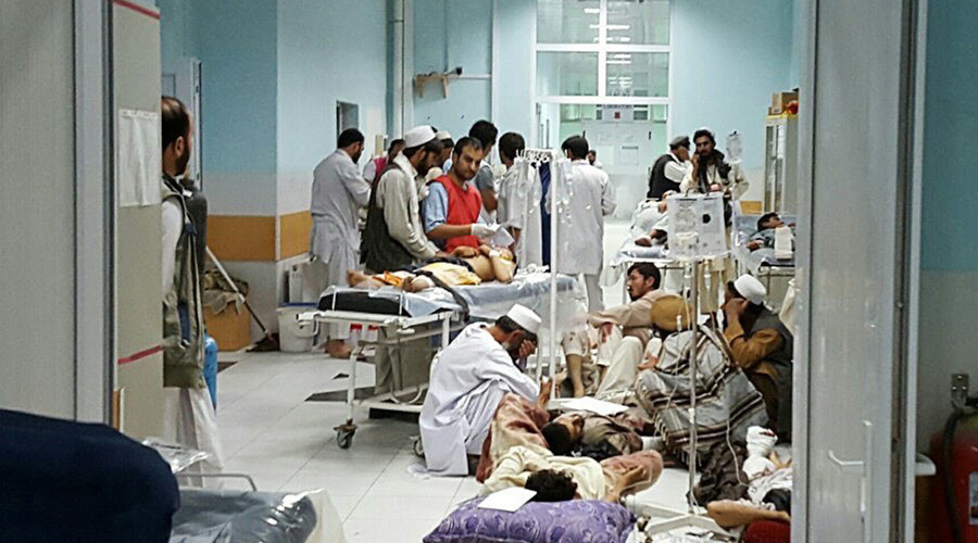 US says Afghans requested airstrike that struck Kunduz hospital
