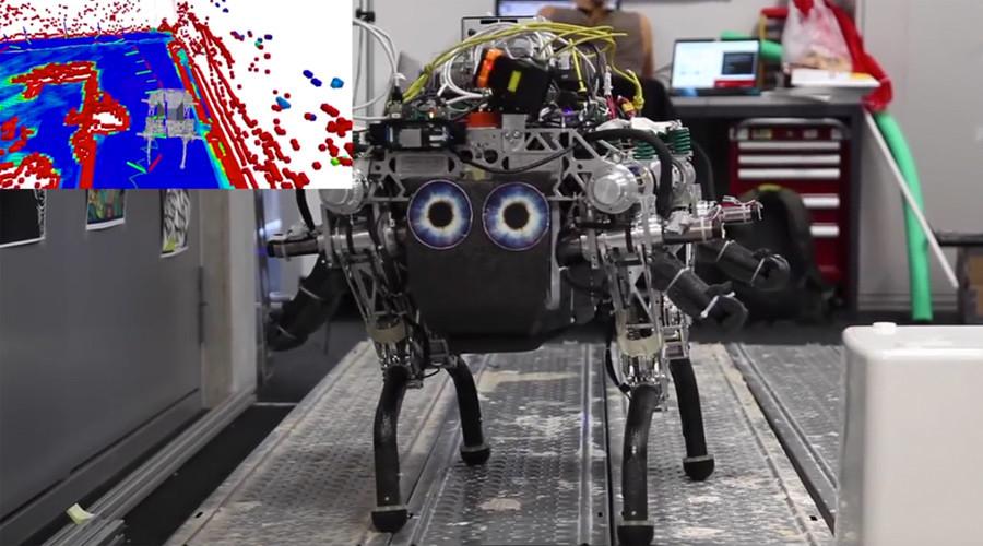 VertiGo: Disney introduces wall-climbing robot (VIDEO)