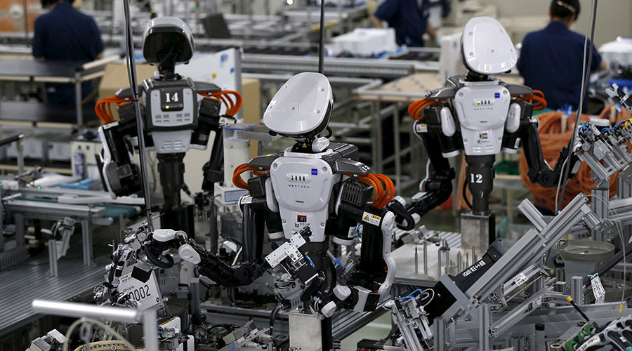 Hawking: Greedy capitalists may pocket wealth as robots replace human workers
