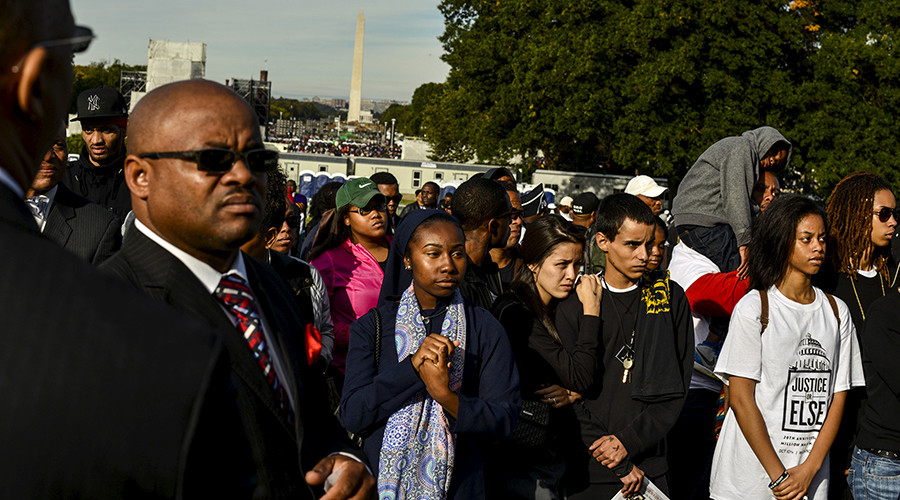 Like a pilgrimage: Tens of thousands attend 20th Million Man March anniversary in Washington, DC