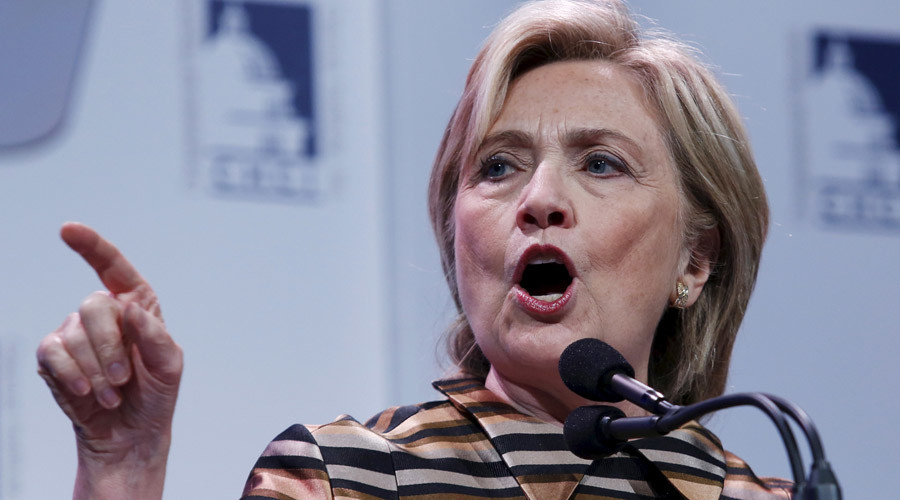 6 flip flops from Hillary 'Real Person' Clinton