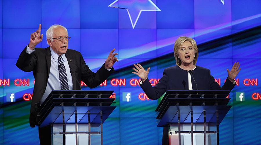 'US 2016 race: People sick of politics of personalities, want substantive debate'