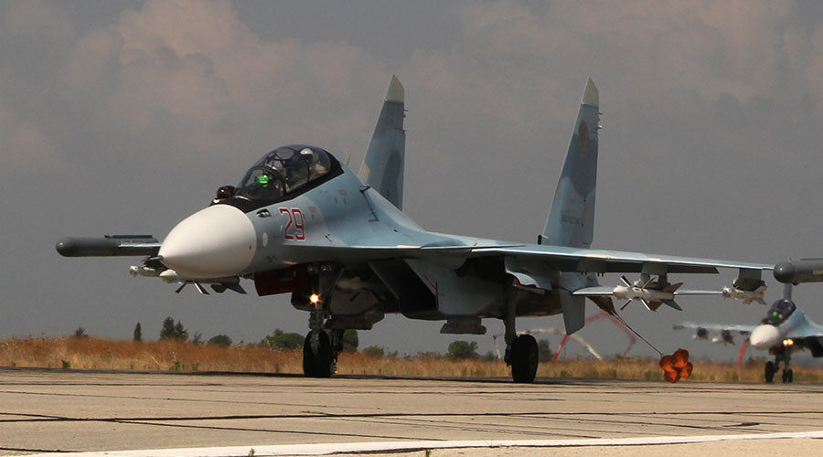 Show me your ID: Russian Sukhoi Su-30 gets near US jet over Syria for identification