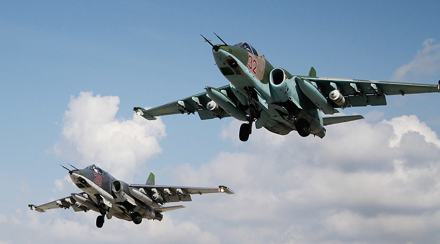 Syrian civilians helping Russian airstrikes target ISIS - Defense Ministry