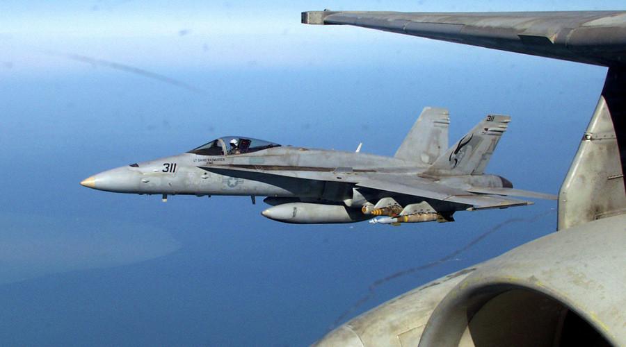 US pilot killed in F/A-18 Hornet crash near Lakenheath, UK police confirm