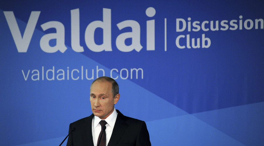 Time to co-operate? Putin tries to build bridges with the West at Valdai