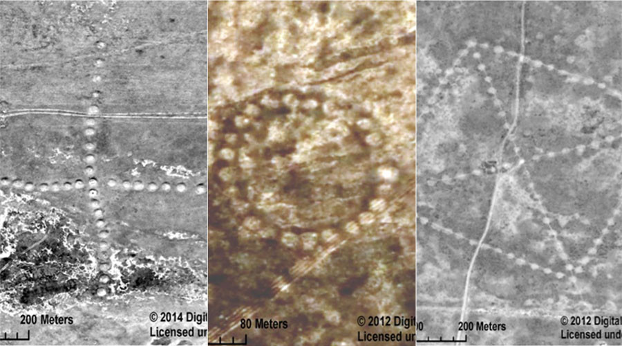 NASA releases images of enormous 8,000-year-old patterns