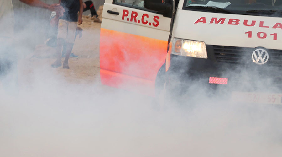 8-month-old dies from 'tear gas shot by Israeli forces' – Palestinian Health Ministry