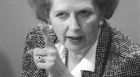 ARCHIVE PHOTO: British Prime Minister Margaret Thatcher, 1987. © Roy Letkey
