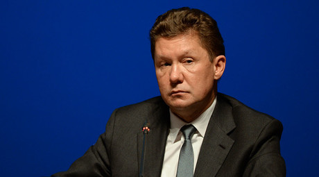 Alexey Miller, Chairman of the Gazprom Management Committee. © Mikhail Voskresenskiy