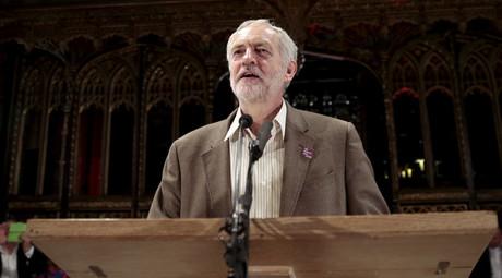 Britain's opposition Labour Party leader Jeremy Corbyn © Suzanne Plunkett