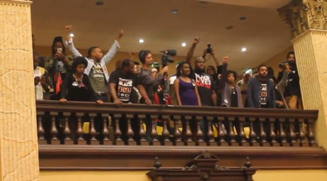 16 arrested at sit-in against Baltimore's police chief appointment