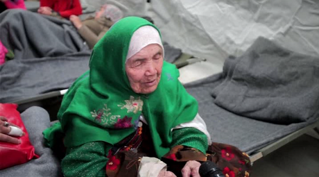 105yo woman walks 20 days in pursuit of better life in Europe