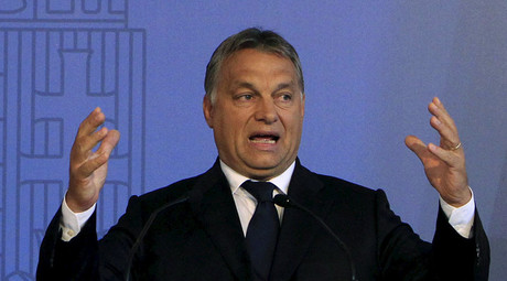 Hungarian PM blames Soros for fueling refugee crisis in Europe