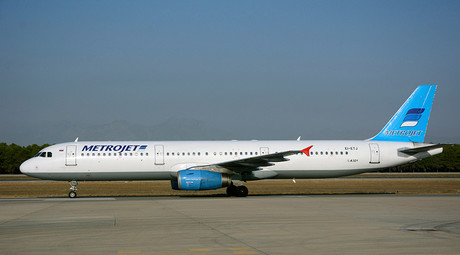 The Metrojet's Airbus A-321 © Kim Philipp