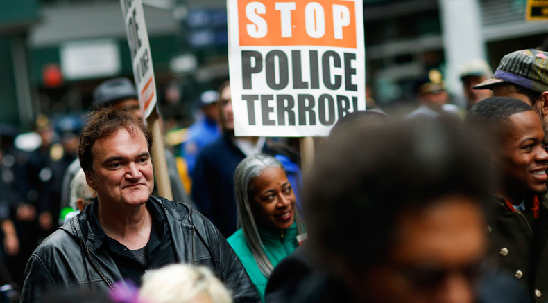 Why Tarantino is right to stand with the victims of US cops brutality