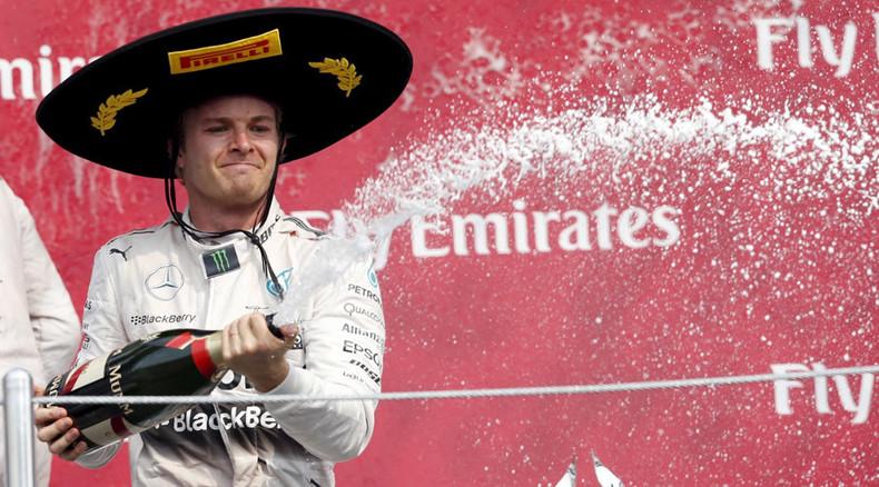 Rosberg beats champion Hamilton in Mexico Grand Prix