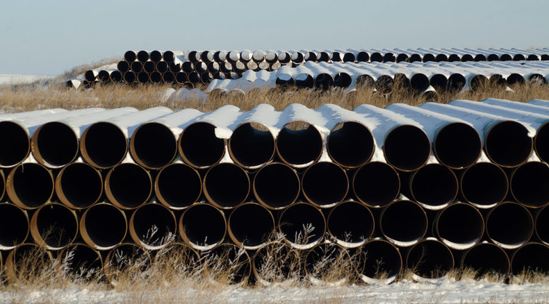 Keystone XL pipeline builders ask US to 'pause' review