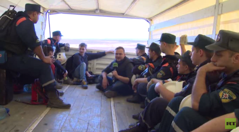 EXCLUSIVE: RT crew joins poignant Russian search at Sinai plane crash site