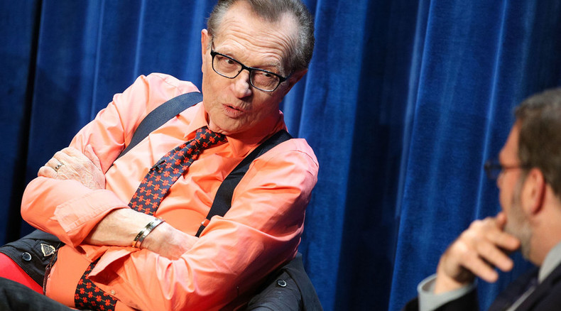 News legend's shows come to Britain: RT UK to air PoliticKing with Larry King & Larry King Now