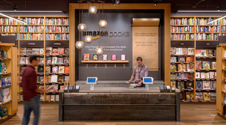 If you can beat 'em, join 'em: Amazon opens first physical bookstore