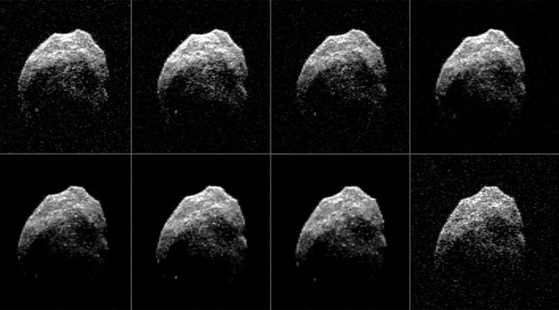 NASA reveals images of 'Spooky' asteroid that zipped past Earth on Halloween