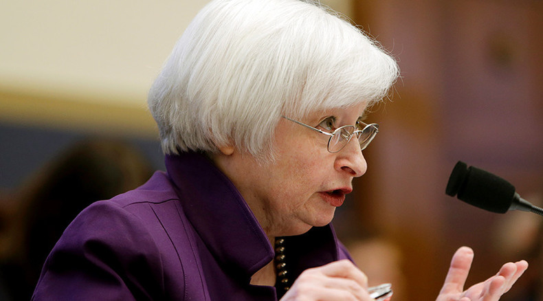 Congressman urges 'God's plan' for Fed rate hikes, but Yellen has her own ideas