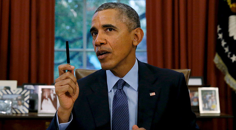 US strength not just through 'occupying countries' & 'firing missiles' - Obama