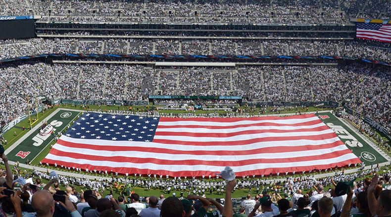 'Paid patriotism': Pentagon gives pro sports millions to honor soldiers at games