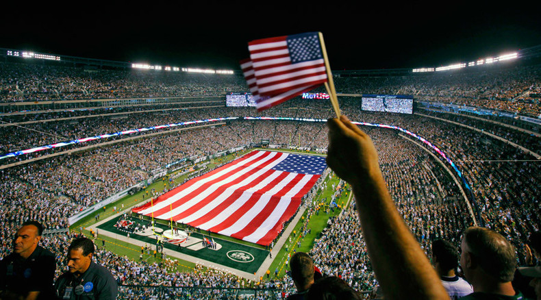 Pay for patriotism report in US names NFL and NHL teams