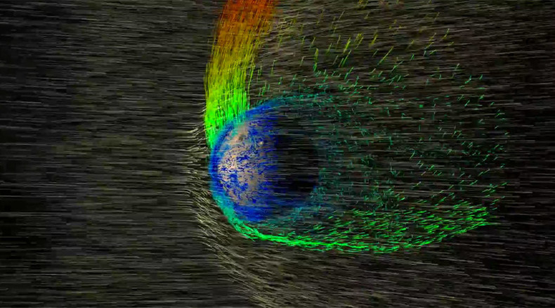 Warm & wet Mars stripped of atmosphere by solar winds – NASA