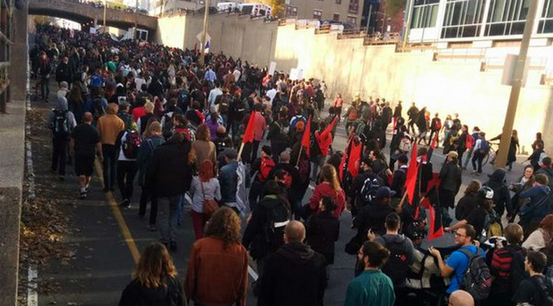 Canada's Montreal hit with massive student anti-austerity protest (PHOTOS)
