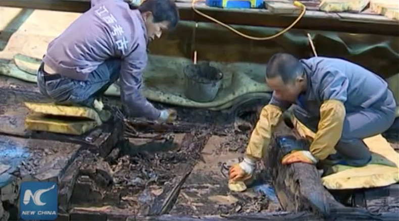 Ancient discoveries: Thousands of gold & bronze items unearthed at Chinese cemetery